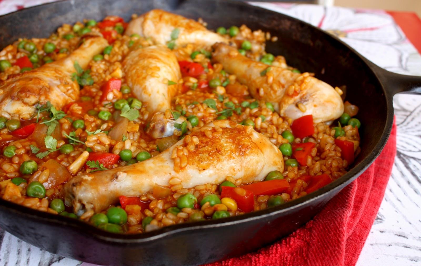 Arroz con pollo receta mil recetas - Arroz salteado con pollo ...
