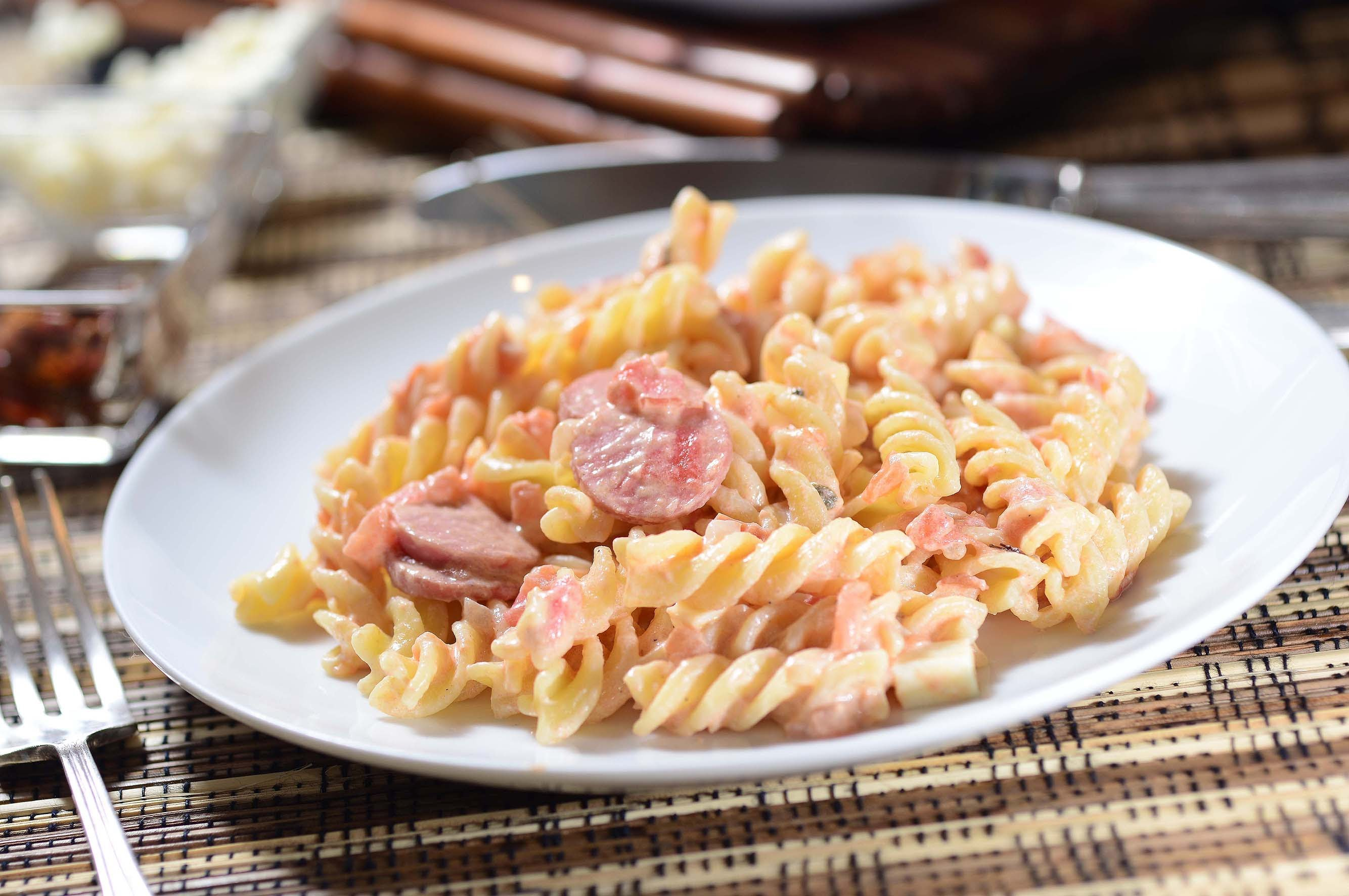 Pasta con Salchichas – Mil Recetas