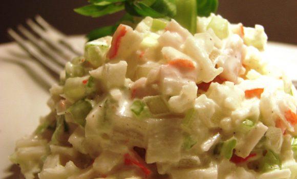 Ensalada de surimi receta
