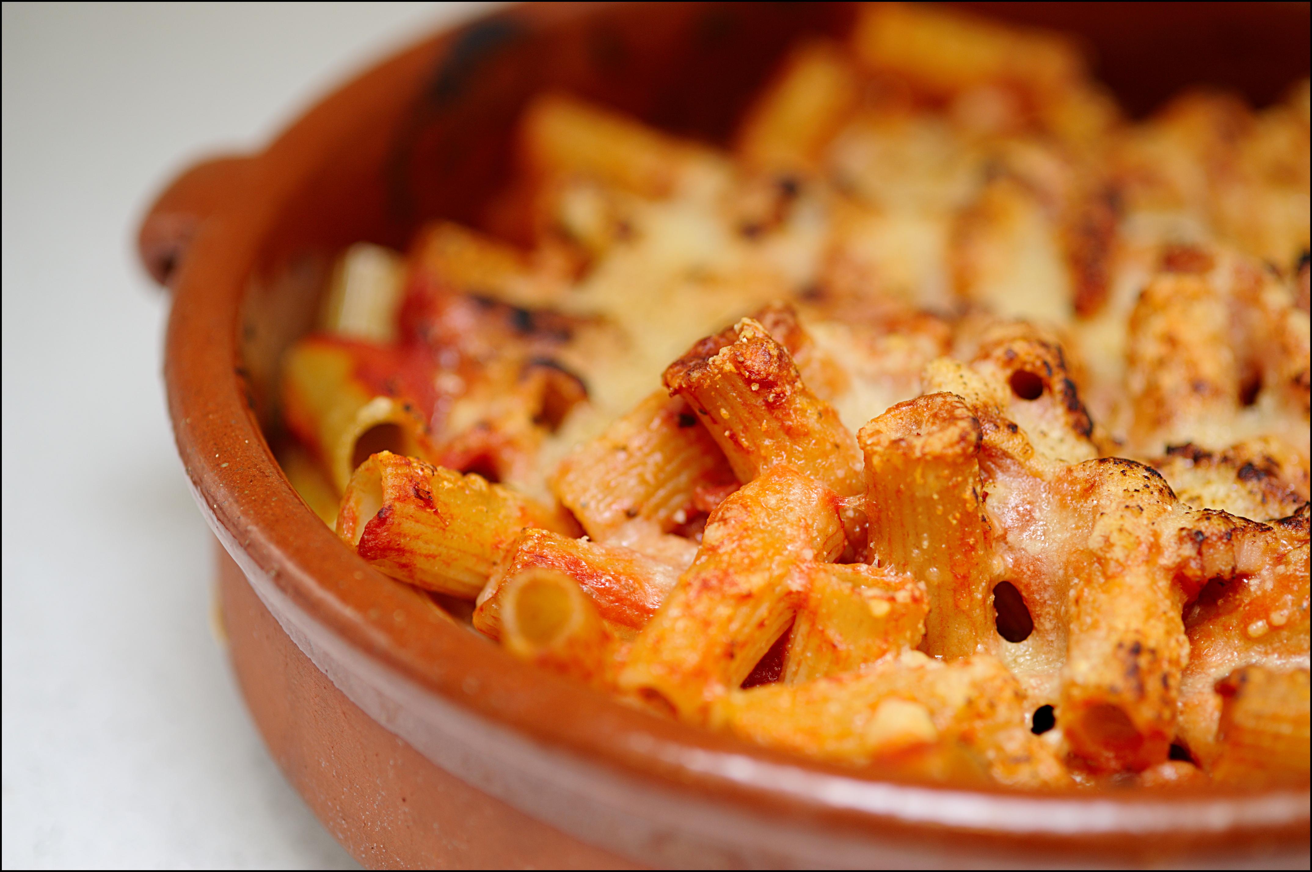 Macarrones al horno buen simos mil recetas - Macarrones con verduras al horno ...