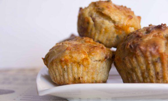 Cupcakes salados, sal de lo común en tus fiestas