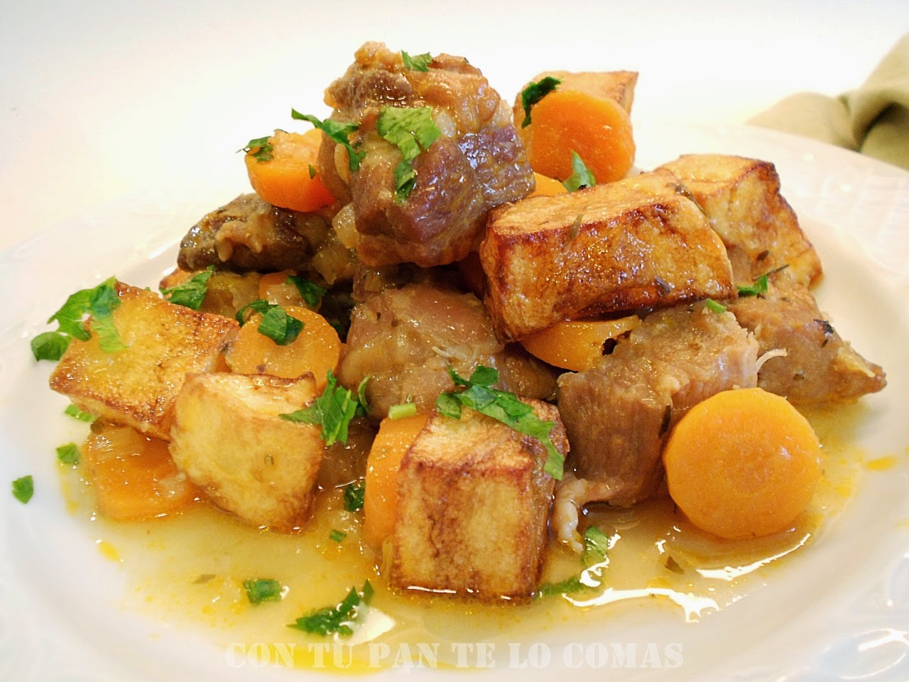 Estofado de cerdo el mejor guiso en tu mesa mil recetas - Guiso de carne de cerdo ...