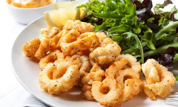 Calamares fritos ¡Una maravilla crujiente!