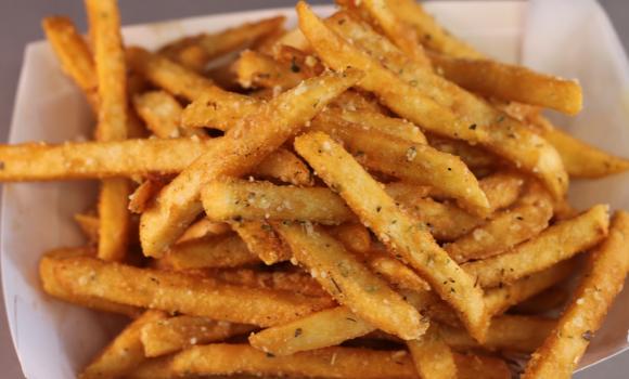 Patatas fritas crujientes ¡Tan perfectas como en la TV!