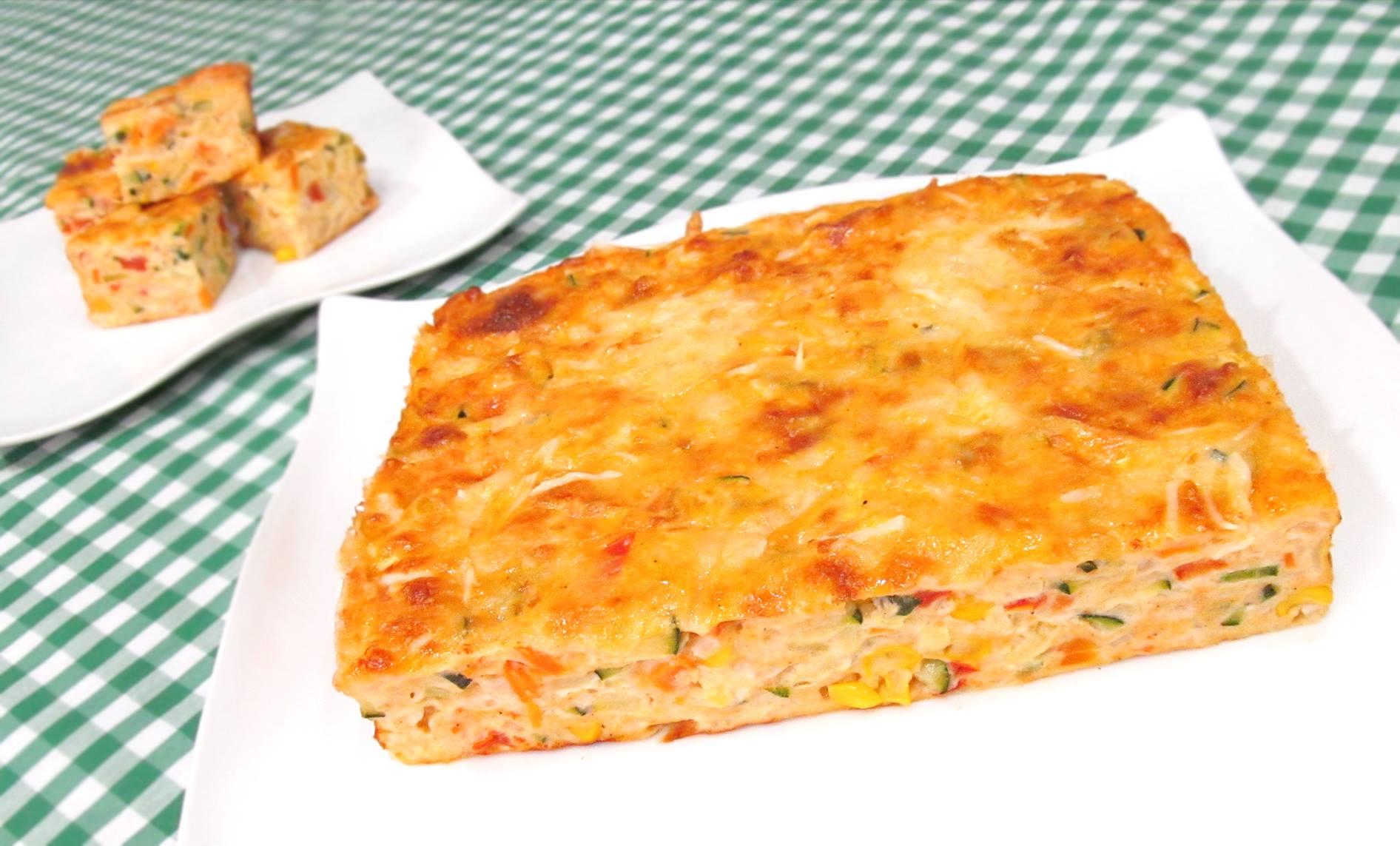 Pastel de verduras al horno perfecto para la cena mil - Verduras rellenas al horno ...