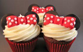 Cupcakes de Minnie ¡Adorables y deliciosos!