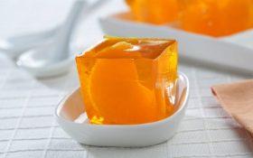 Gelatina de naranja !Cítrico y dulce en un solo plato!