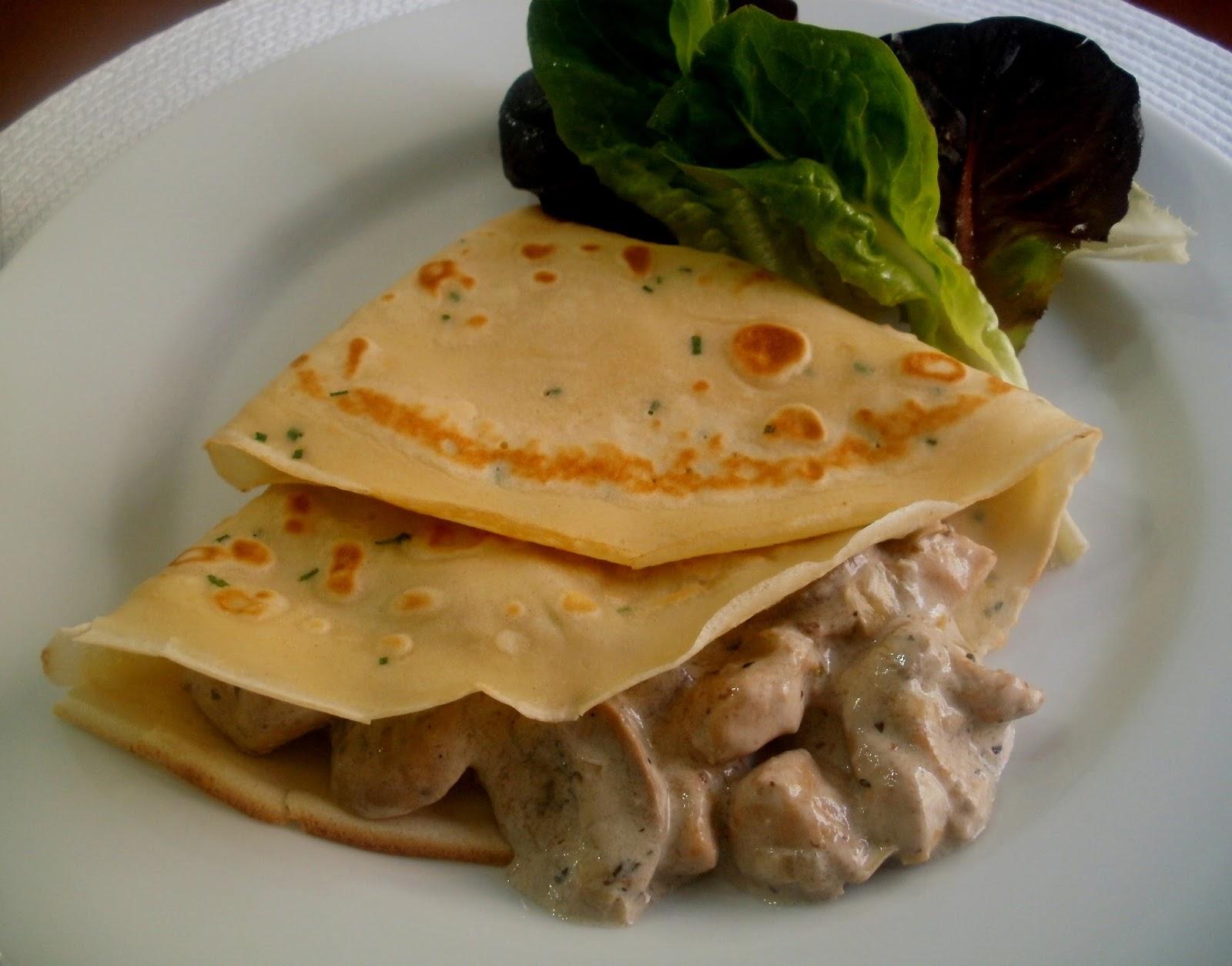 Crepes saladas 3 ricas recetas para degustar en familia - Ingredientes para crepes ...