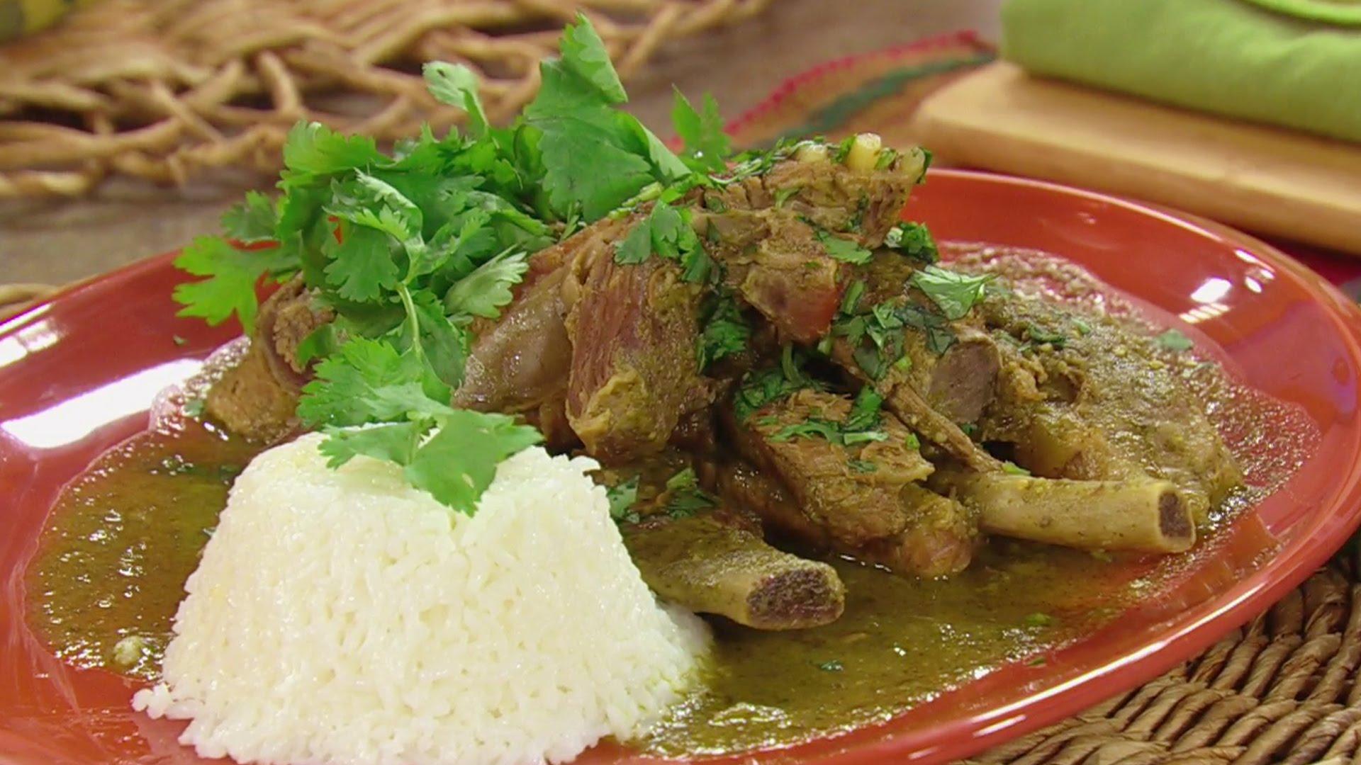 Costillas En Salsa Verde Lleva México A Tu Mesa Mil Recetas