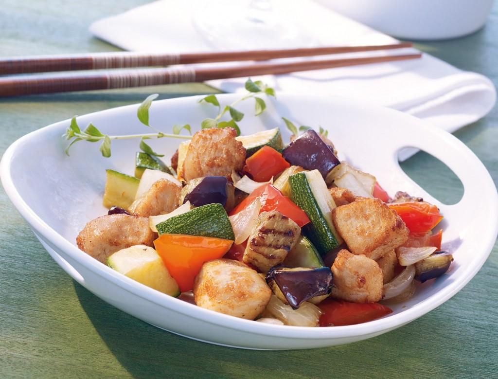 Recetas de pollo con verduras para bajar de peso