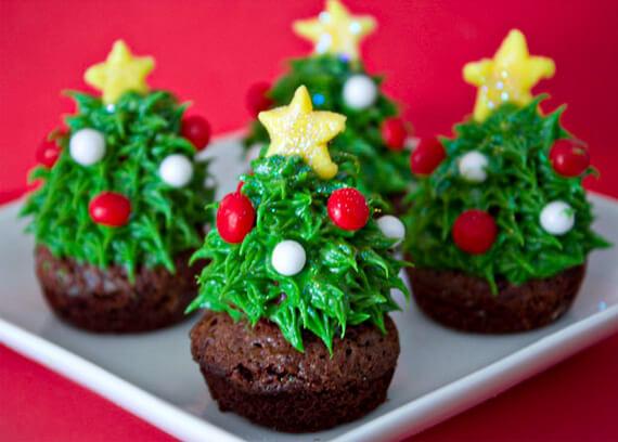 Cupcakes De Navidad Para Elaborar Con Tus Pequenos