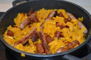 Calabaza Frita Al Vino Y Con Chorizo Mil Recetas - Recetas-de-calabaza-frita