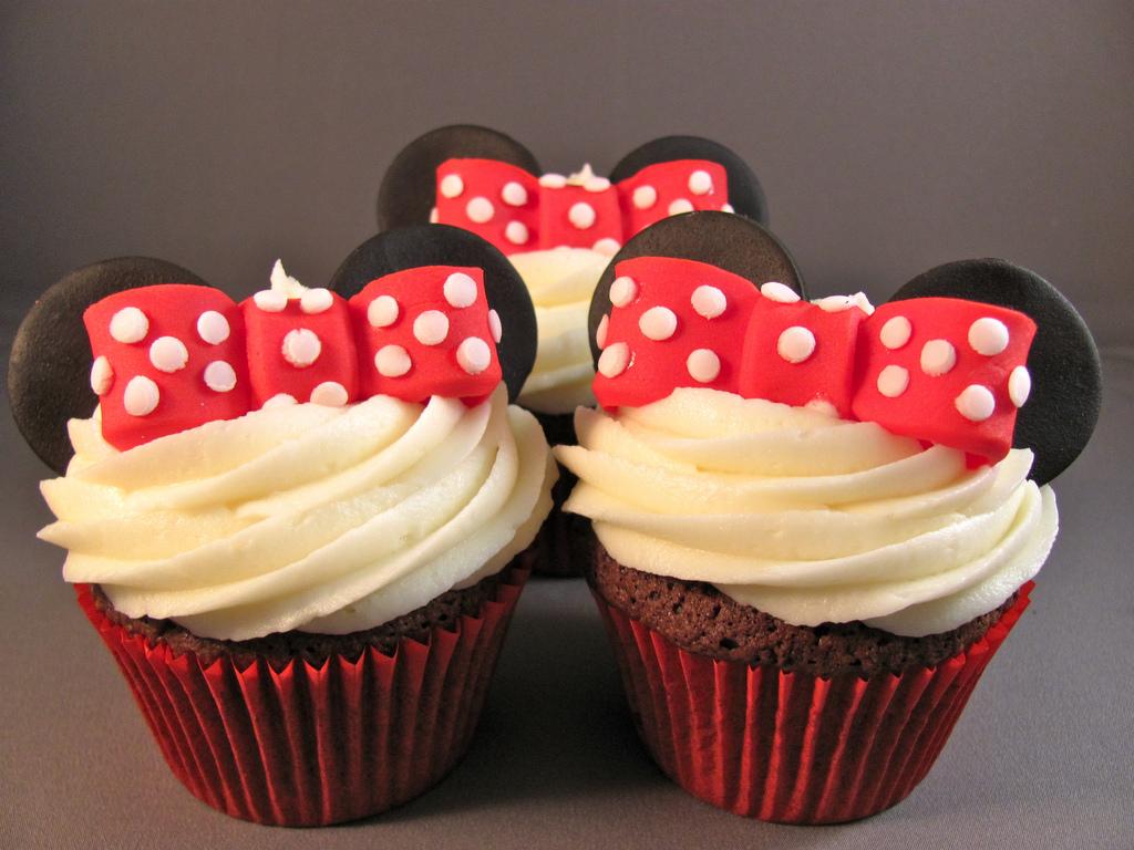 Cupcakes De Minnie Adorables Y Deliciosos Mil Recetas