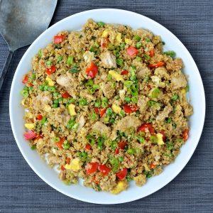 Quinoa con at n lo m s delicioso y saludable en un plato for Cuanto se cocina la quinoa
