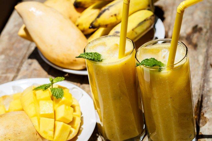 Resultado de imagen para Preparación: Banana, mango y semilla de chia